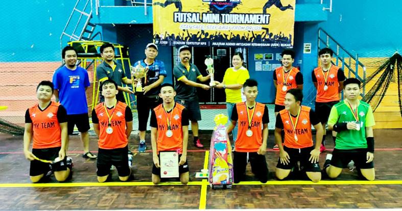 My Team Julang Piala Antidadah Mukah 2020